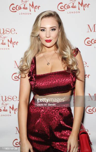 Bethany Lily April attends the launch of Muse by Coco De Mer at Sketch on January 23 2020 in London England