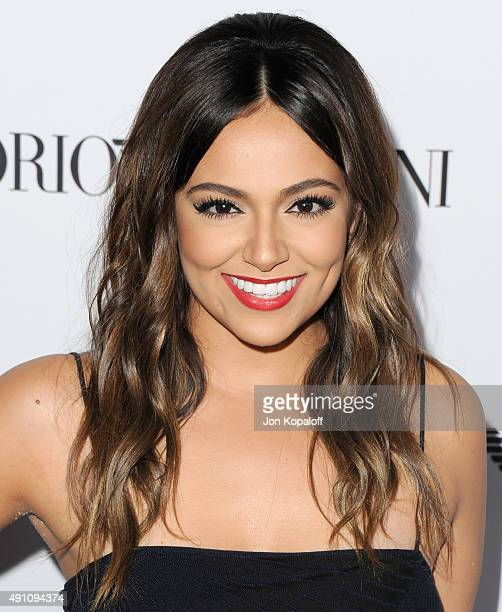 Bethany Mota arrives at Teen Vogue's 13th Annual Young Hollywood Issue Launch Party on October 2 2015 in Los Angeles California