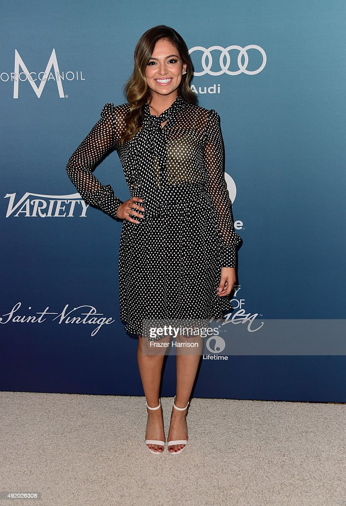 Bethany Mota attends Variety's Power Of Women Luncheon at the Beverly Wilshire Four Seasons Hotel on October 9, 2015 in Beverly Hills, California.