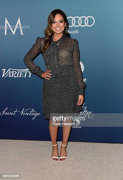 Bethany Mota attends Variety's Power Of Women Luncheon at the Beverly Wilshire Four Seasons Hotel on October 9 2015 in Beverly Hills California