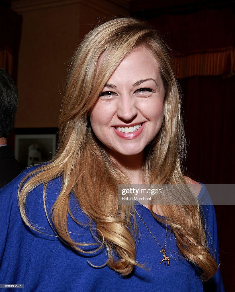 Bethany Watson attends Elvis Duran Morning Show Holiday Party at Carmine's on December 14, 2012 in New York City.