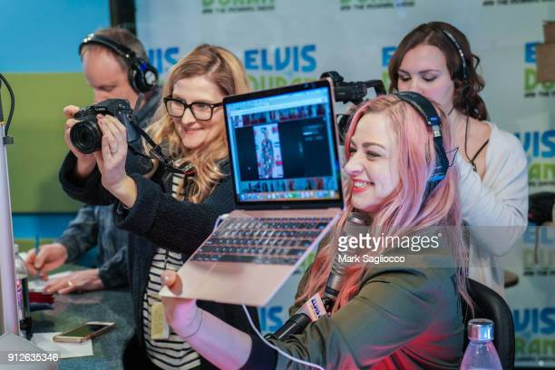 Bethany Watson attends 'The Elvis Duran Z100 Morning Show' at Z100 Studio on January 31 2018 in New York City