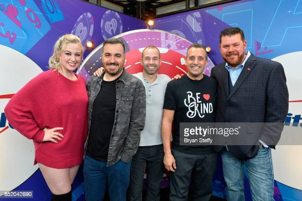 Bethany Watson Brian Quinn James Murray Joseph Gatto and Kane attend the 2017 iHeartRadio Music Festival at TMobile Arena on September 22 2017 in Las...