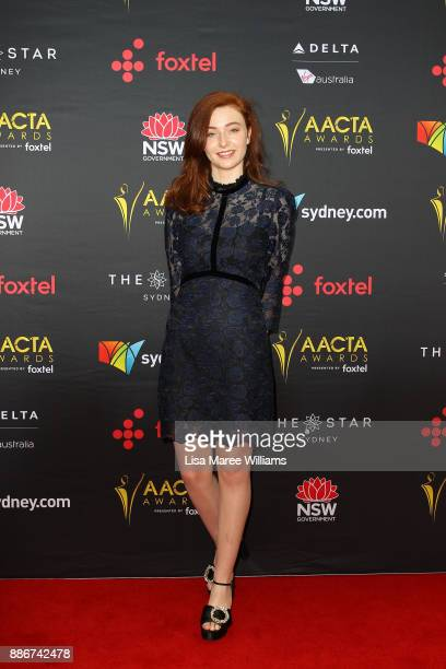 Bethany Whitmore attends the 7th AACTA Awards Presented by Foxtel | Ceremony at The Star on December 6 2017 in Sydney Australia