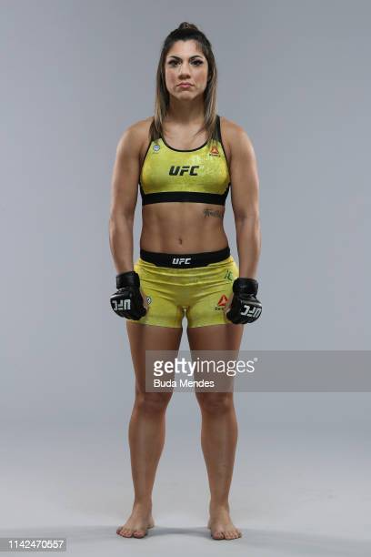 Bethe Correia of Brazil poses for a portrait during a UFC photo session on May 08 2019 in Rio de Janeiro Brazil