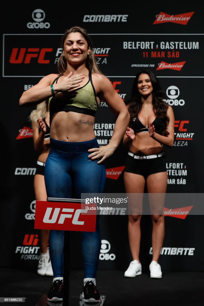 UFC Fight Night: Belfort v Gastelum Weigh-ins