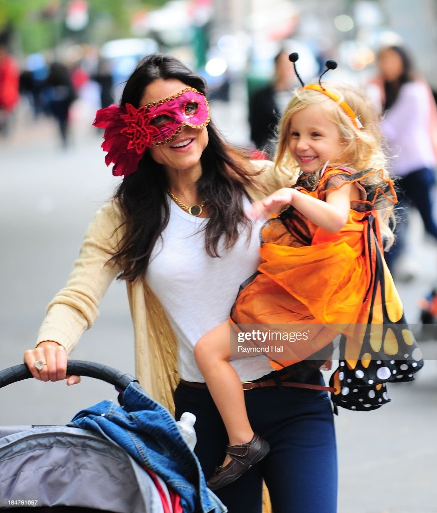 Bethenny Frankel and Bryn Hoppy are seen in Soho on October 16, 2013 in New York City.