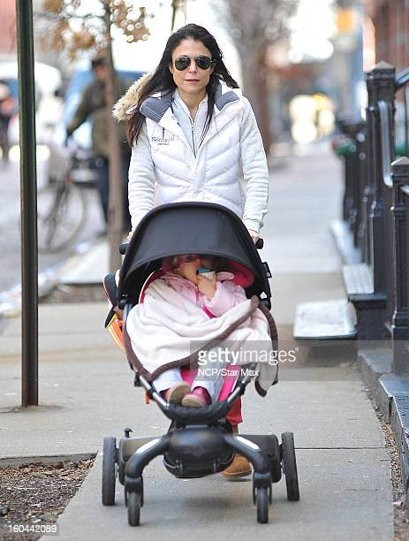 Bethenny Frankel and Bryn Hoppy as seen on January 31 2013 in New York City