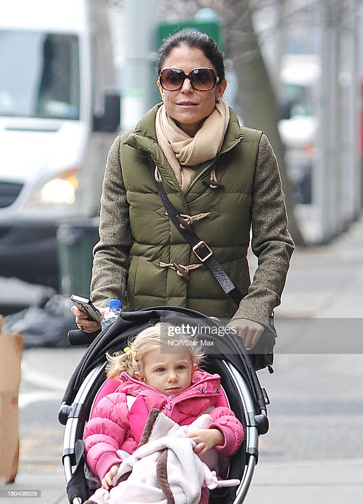 Bethenny Frankel and Bryn Hoppy sighting on January 30, 2013 in New York City.