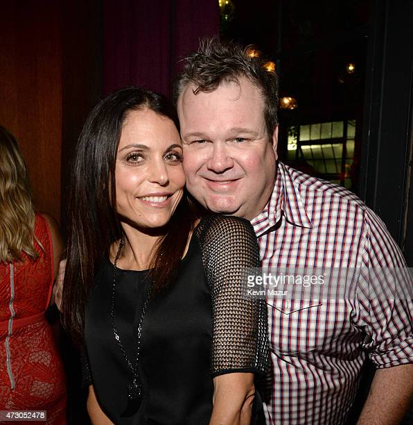 Bethenny Frankel and Eric Stonestreet attend 2015 CAA Upfronts Celebration Party on May 11 2015 in New York City