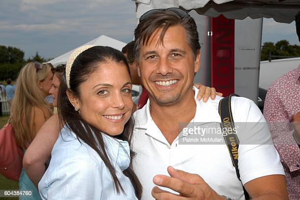 Bethenny Frankel and Kevin Mazur attend TMobile Sidekick 3 Lounge at Bridgehampton Polo Club presented by Vincent Longo and OK Magazine at...