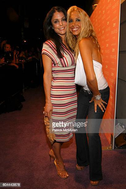 Bethenny Frankel and Samantha Cole attend Paris Hilton Album Release Party at Marquee on August 16 2006