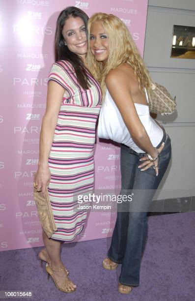 Bethenny Frankel and Samantha Cole during Paris Hilton CD Release Party At Marquee August 16 2006 at Marquee in New York City New York United States