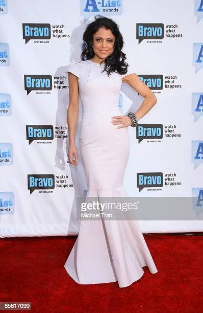 Bethenny Frankel arrives to Bravo's 2nd Annual AList Awards held at The Orpheum Theatre on April 5 2009 in Los Angeles California