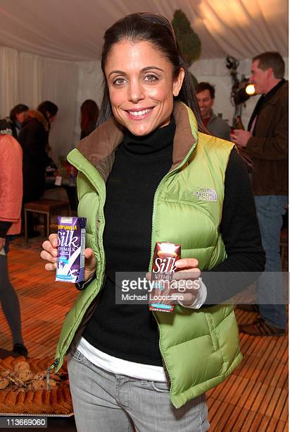 Bethenny Frankel at Silk Soymilk at The Ice Lounge presented by The North Face, Lexus, and St. Regis.*Exclusive*