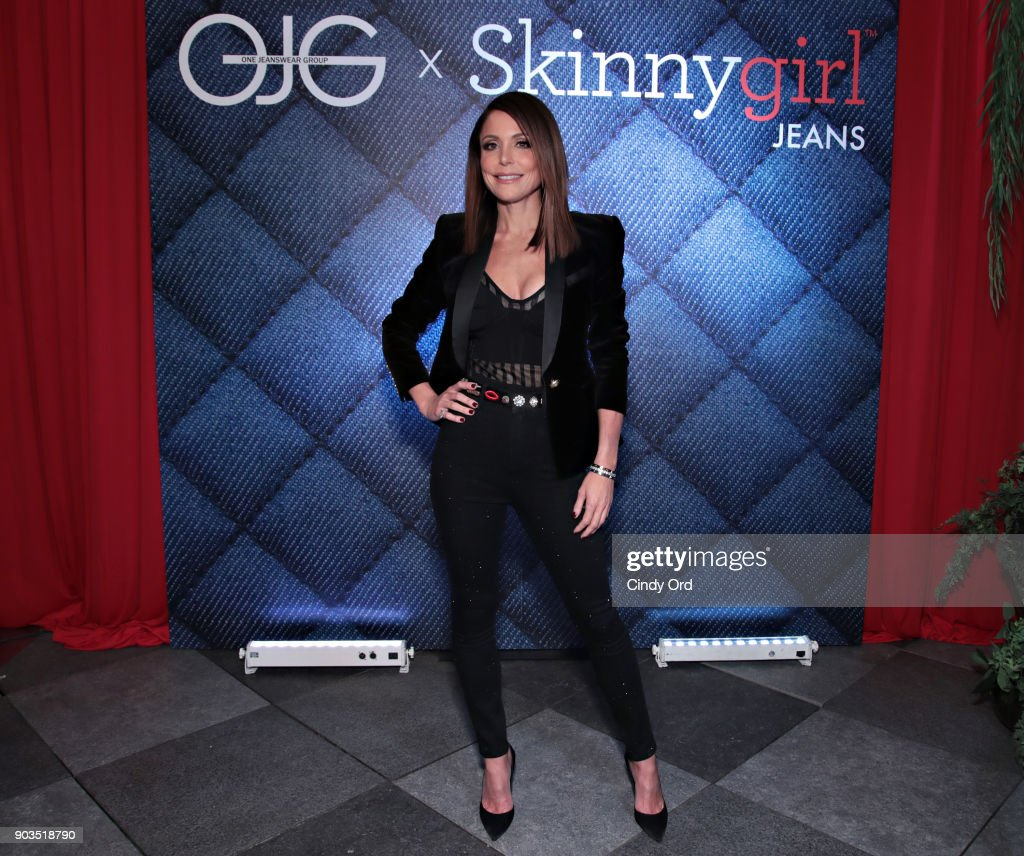 Bethenny Frankel attends as ONE Jeanswear Group and Bethenny Frankel Celebrate the Launch of Skinnygirl Jeans on January 9, 2018 in New York City.