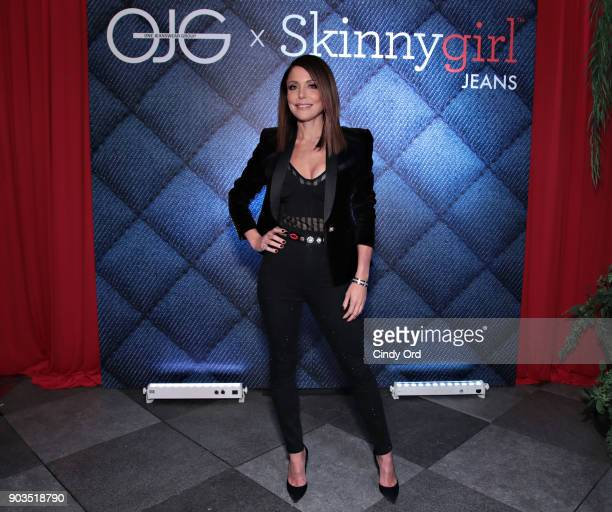 Bethenny Frankel attends as ONE Jeanswear Group and Bethenny Frankel Celebrate the Launch of Skinnygirl Jeans on January 9 2018 in New York City