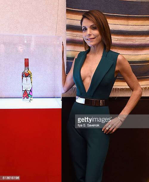 Bethenny Frankel attends Bethenny Frankel's Mexican Fiesta where she shares a sneak peek of the newest addition to Skinnygirl® Cocktails' line of...