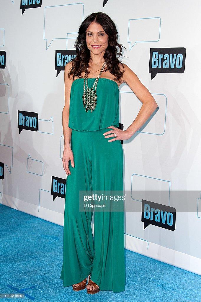 Bethenny Frankel attends Bravo Upfront 2012 at Center 548 on April 4, 2012 in New York City.