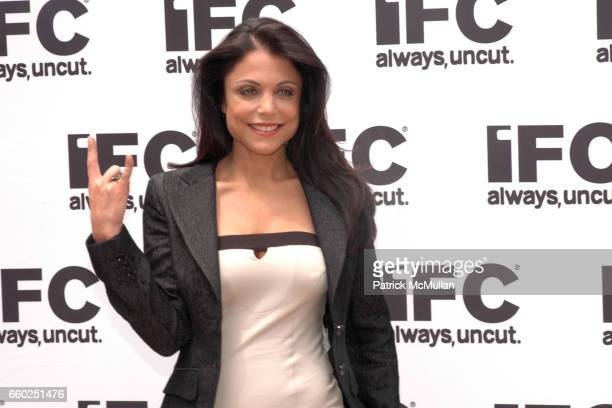 Bethenny Frankel attends IFC CELEBRATES SEASON 2 OF ROCK WITH AMERICA'S HOTTEST ROCKER MOM CONTEST at Madison Square Park on June 3 2009 in New York