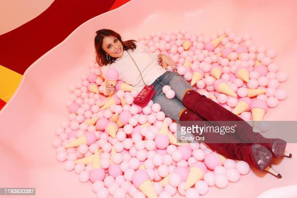 Bethenny Frankel attends Museum of Ice Cream SoHo Flagship Opening Party on December 12 2019 in New York City