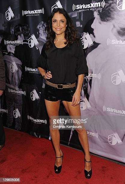 Bethenny Frankel attends SiriusXM's One Night Only at Studio 54 on October 18 2011 in New York City