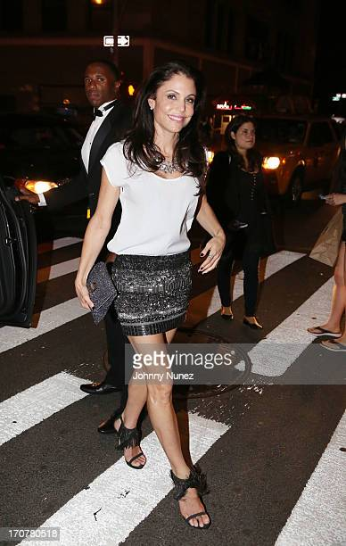 Bethenny Frankel attends The 40/40 Club 10 Year Anniversary Party at 40 / 40 Club on June 17 2013 in New York City