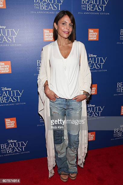Bethenny Frankel attends the 'Beauty The Beast' 25th Anniversary Screening at Alice Tully Hall Lincoln Center on September 18 2016 in New York City