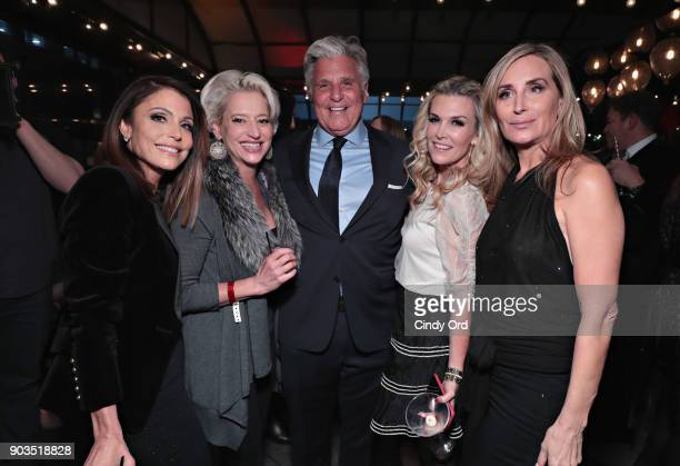 Bethenny Frankel, Dorinda Medley, Jack Gross, Chief Executive Officer at ONE Jeanswear Group, Tinsley Mortimer and Sonja Morgan attend as ONE...