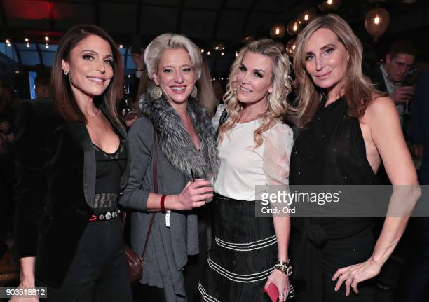Bethenny Frankel, Dorinda Medley, Tinsley Mortimer and Sonja Morgan attend as ONE Jeanswear Group and Bethenny Frankel Celebrate the Launch of...