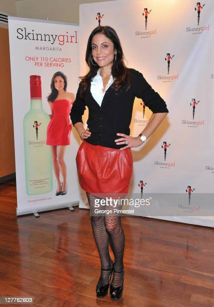 Bethenny Frankel helps unveil the launch of 'Skinnygirl Margarita' at the LCBO at Yonge Summerhill on June 17 2011 in Toronto Canada