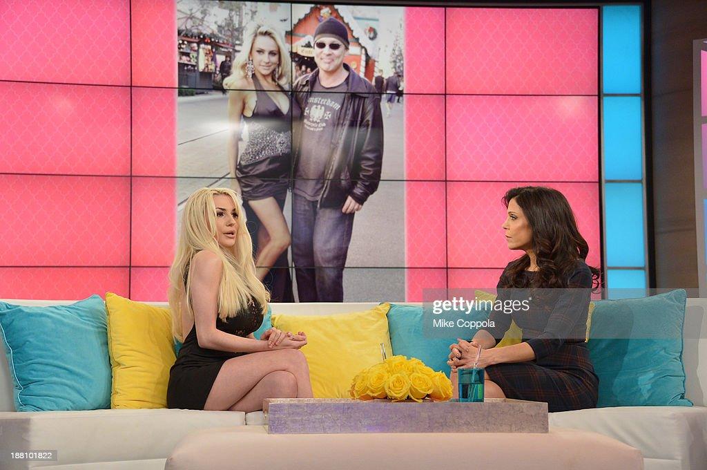 Bethenny Hosts Courtney Stodden : News Photo