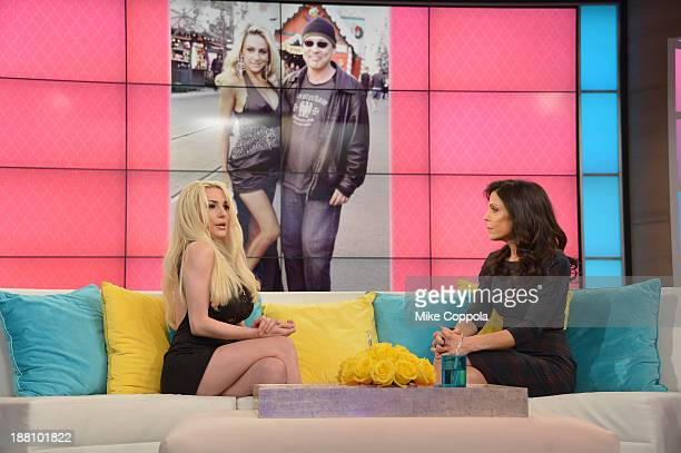 Bethenny Frankel hosts Courtney Stodden on 'bethenny' at CBS Broadcast Center on November 15 2013 in New York City