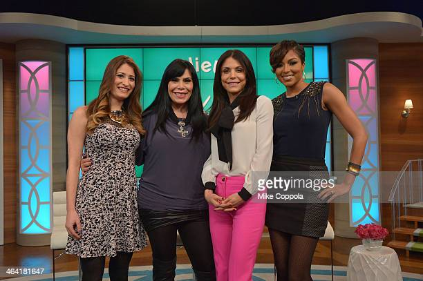 Bethenny Frankel hosts Kandi Burruss Renee Graziano Alicia Quarles and Dr Travis Stork at CBS Broadcast Center January 21 2014 in New York City The...
