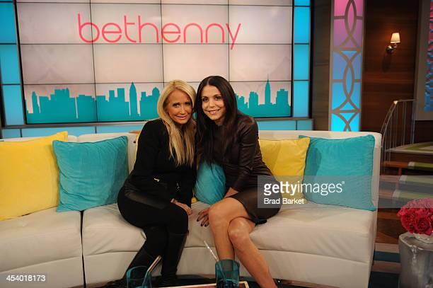 Bethenny Frankel hosts Kim Richards Elise Neal Bresha Webb Heather Dubrow and talks about winter skin remedies on bethenny at CBS Broadcast Center...