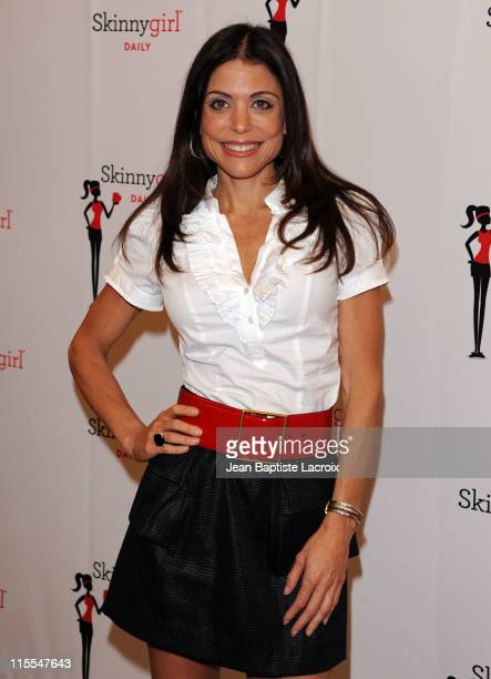 Bethenny Frankel introduces Skinnygirl Daily to fans at GNC At The Beverly Center on June 7 2011 in Los Angeles California