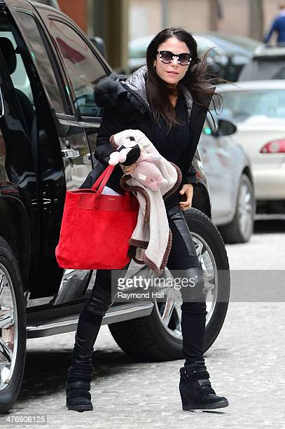 Bethenny Frankel is seen in Tribeca on March 5 2014 in New York City