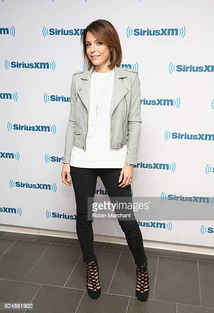 Bethenny Frankel launches 'B Real with Bethenny' on Andy Cohen's exclusive SiriusXM channel Radio Andy at SiriusXM Studio on April 26 2016 in New...