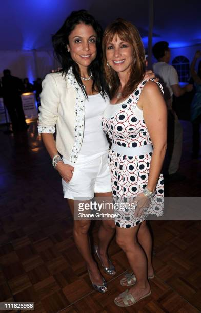 Bethenny Frankel of Bravos' Real Housewives of New York City' and Jill Zarin of Bravos ' Real Housewives of New York City'attend the 2008 American...