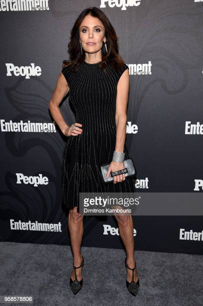 Bethenny Frankel of The Real Housewives of New York attends Entertainment Weekly PEOPLE New York Upfronts celebration at The Bowery Hotel on May 14...