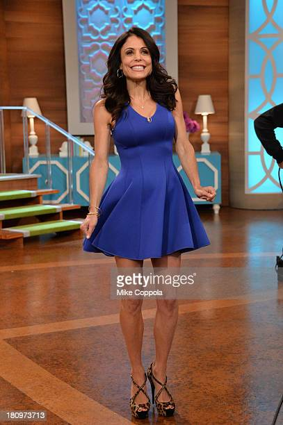 Bethenny Frankel on the set of 'Bethenny' with special guests NeNe Leakes Miss America Heather Dubrowm Bevy Smith and Nicole Byer at CBS Broadcast...