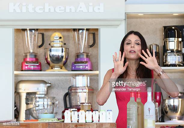 Bethenny Frankel onstage at the Whole Foods Market Grand Tasting Village Featuring MasterCard Grand Tasting Tents KitchenAid® Culinary Demonstrations...