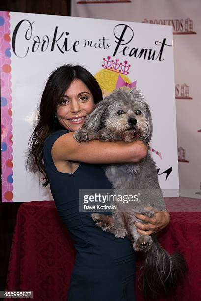 Bethenny Frankel promotes her children's book 'Cookie Meet Peanut' at Bookends Bookstore on September 23 2014 in Ridgewood New Jersey