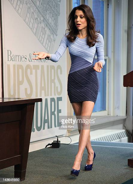 Bethenny Frankel promotes her new book Skinnydipping at Barnes Noble Union Square on May 1 2012 in New York City
