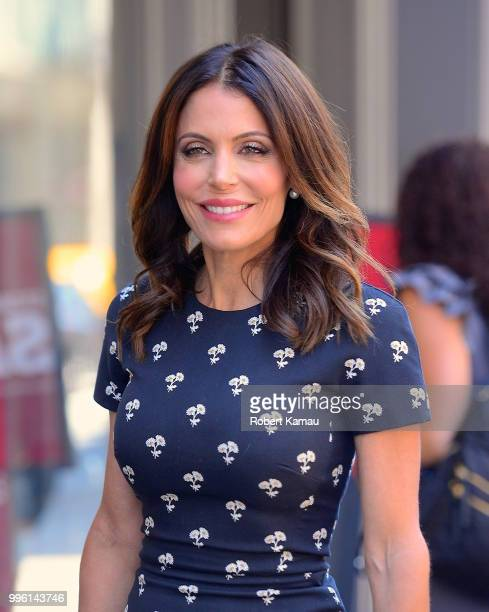 Bethenny Frankel seen out and about in Manhattan on July 10 2018 in New York City