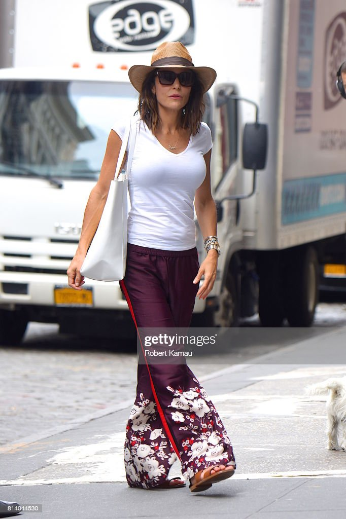 NEW YORK, NY - Bethenny Frankel seen out and about in Manhattan (Photo by Robert Kamau/GC Images)
