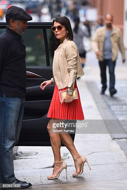 Bethenny Frankel seen out in Manhattan on November 3 2016 in New York City