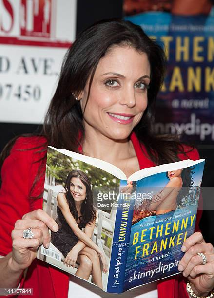 Bethenny Frankel signs copies of her book Skinny Dipping at Bookends on May 9 2012 in Ridgewood New Jersey