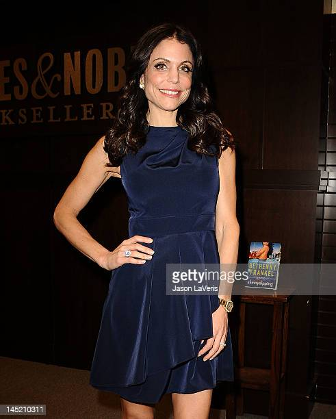 Bethenny Frankel signs copies of her new book Skinnydipping at Barnes Noble bookstore at The Grove on May 23 2012 in Los Angeles California