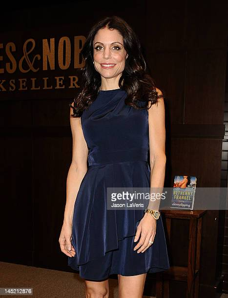 Bethenny Frankel signs copies of her new book 'Skinnydipping' at Barnes Noble bookstore at The Grove on May 23 2012 in Los Angeles California